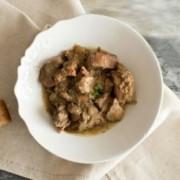 Kaninchen mit Knoblauch (Conejo al ajillo) 350gr