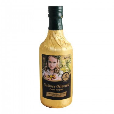Natives Olivenöl Extra Virgen 500 ml 100% Taggiasca-Oliven