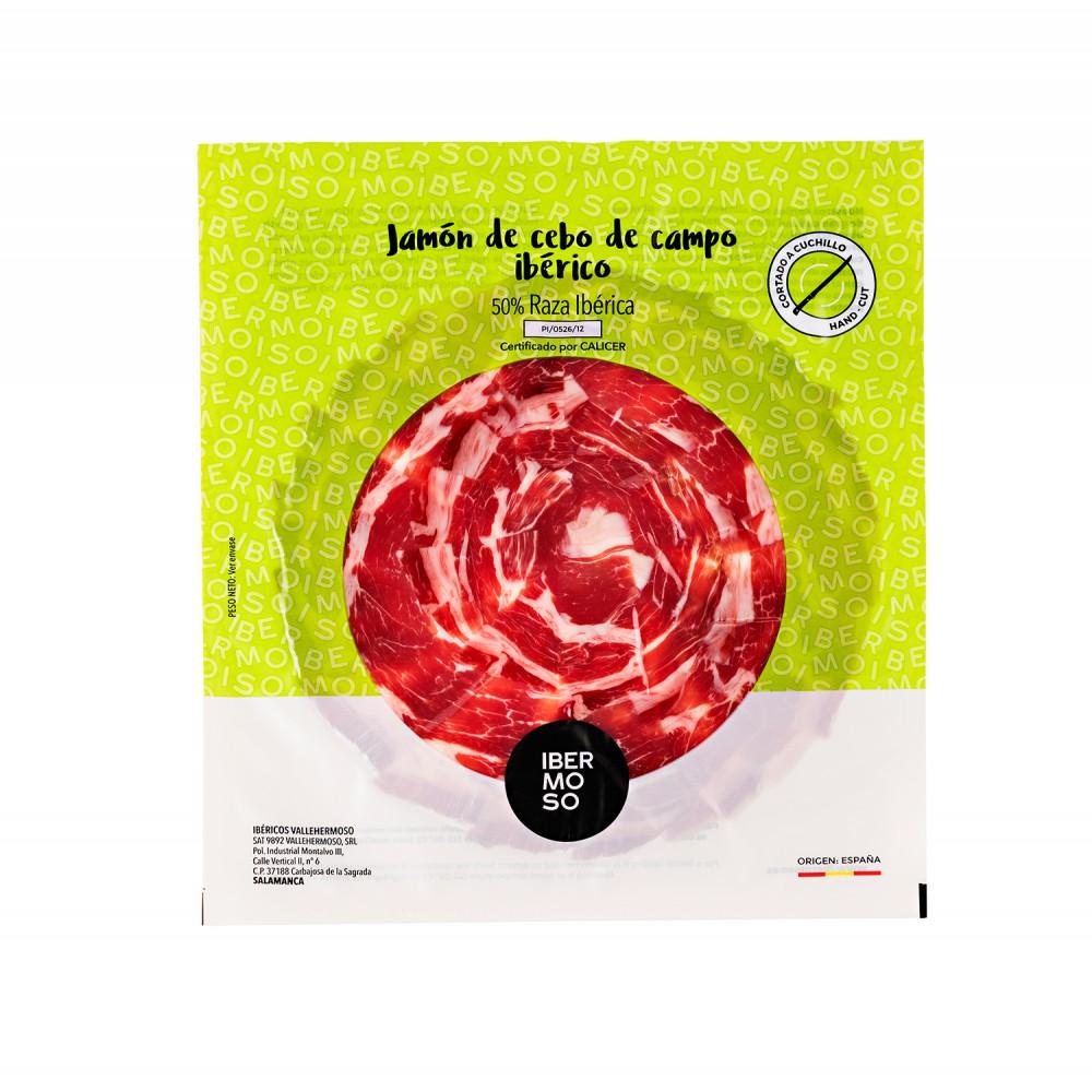 Cebo de Campo 50% Iberischer Schinken Aufschnitt